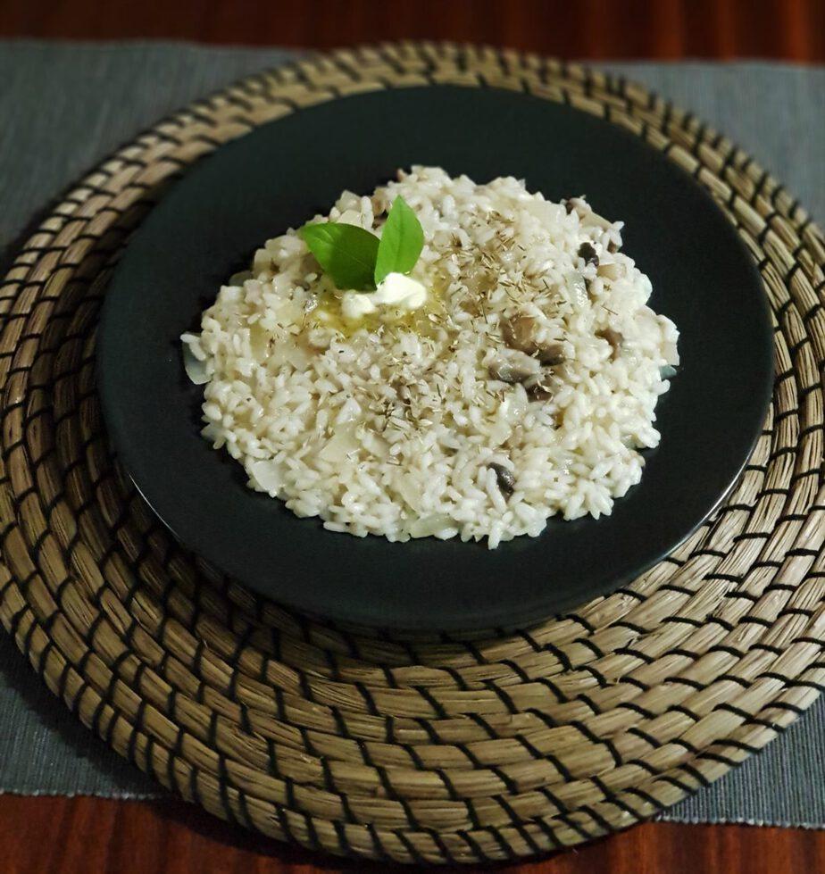 Ριζότο μανιταριών