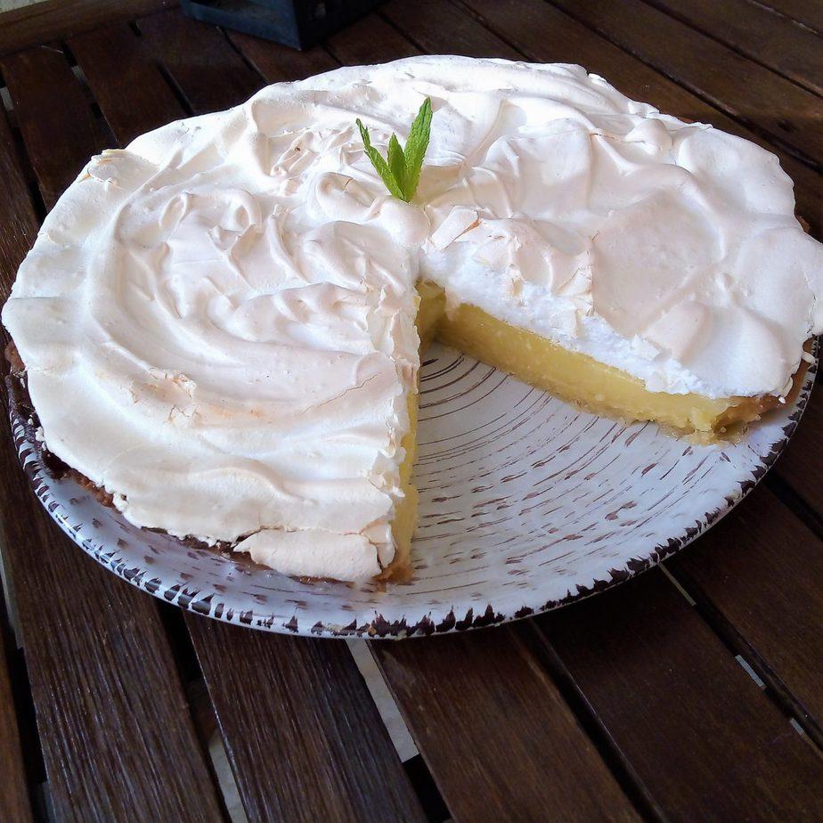 Lemon pie με μαρέγκα