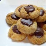 Μπισκότα με φουντούκια και σοκολάτα