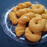 Κουλουράκια με άρωμα βανίλια πορτοκάλι
