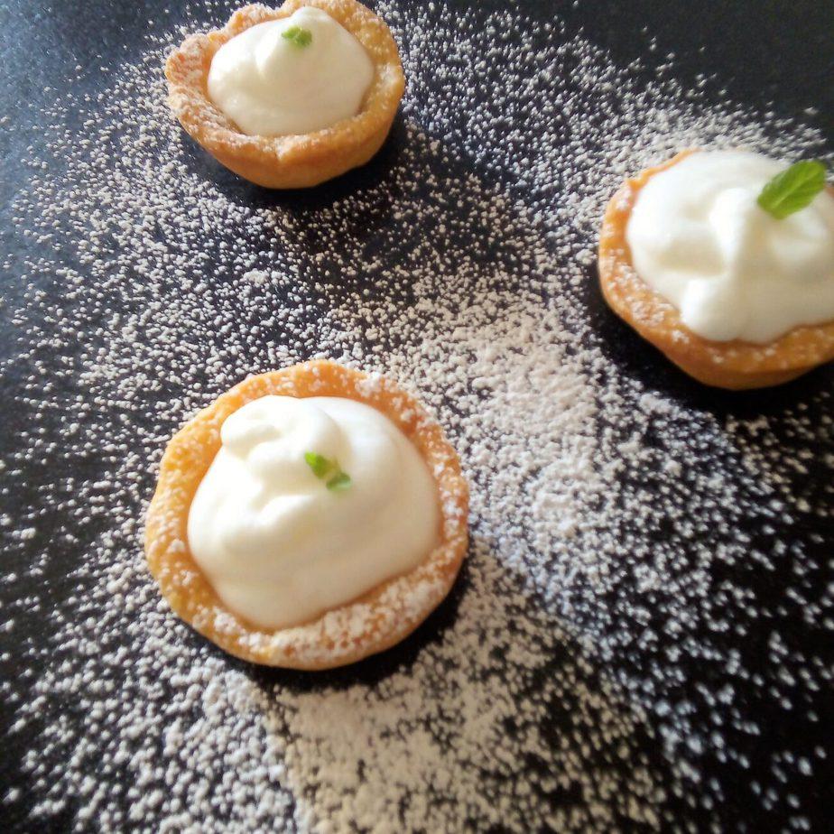 Ταρτάκια με κρέμα λεμονιού