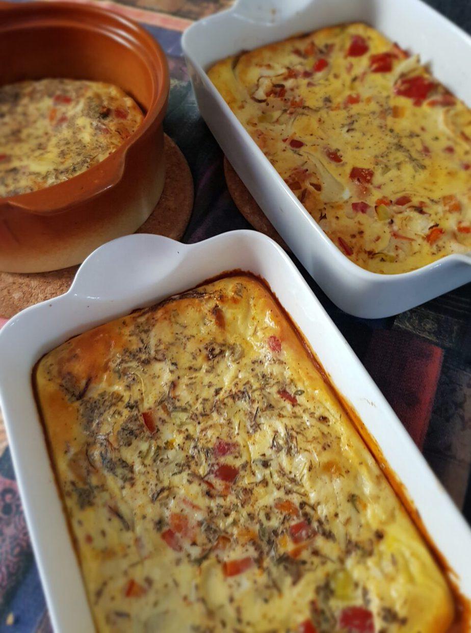 Απλή ομελέτα φούρνου χωρίς τηγάνισμα